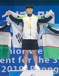 평양 유소년·주니어 역도선수권, 경남체고 박형오 한국 첫 금메달