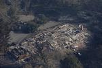 미국 산불 확산…최고시속 110㎞ 강풍에 속수무책