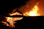 일본 오키나와 상징 슈리성이 불탔다