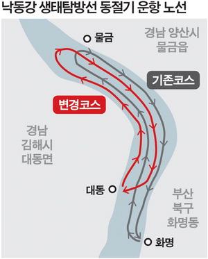 시비 수억 들어가는데…낙동강 생태탐방선 '부산패싱'