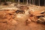 김해서 온전한 형태 17세기 백자 가마터 발굴
