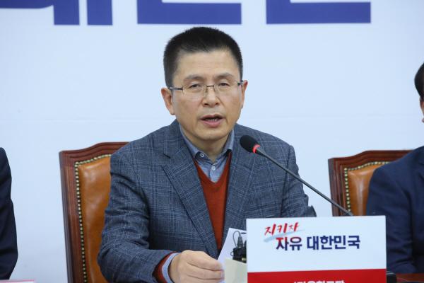 황교안, 오늘부터 청와대 앞서 단식…국정실패 항의