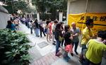 홍콩 운명 가를 구의원 선거 '역대급' 투표율