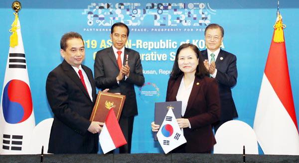 한국·인니 CEPA(포괄적경제동반자협정) 최종 타결…신남방 양자협의 첫 결실