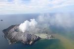 뉴질랜드 화이트섬 화산 분출…관광객 다수 부상