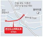 김해 본산 ~ 봉하마을 새 도로는 이달 첫 삽