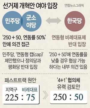 """선거법 운명의 날…여당 """"우리 길 간다"""" 한국당 """"밟고 가라"""""""