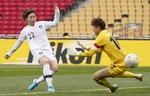 첫승 '벨' 울린 여자축구팀, 대만 3-0 격파