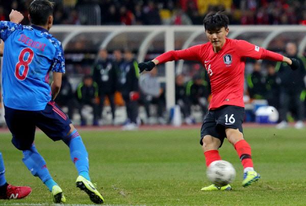 대한민국 일본 꺾고 EAFF E-1 챔피언십 우승 '3연패'