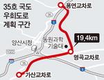 양산 35호 국도 우회로 국가사업 포함