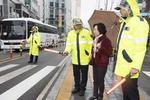 횡단 폭 좁아서…BRT정류소 '무단횡단의 유혹'