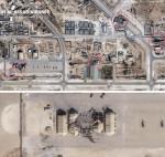 처참히 파괴된 건물…이란 공격 받은 미군 기지 위성사진 공개