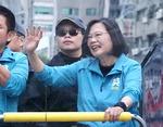 """대만 차이잉원 총통 연임 """"중국에 굴하지 않겠다"""""""