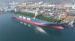 대우조선, 세계 최대 규모 컨테이너선 건조 막바지