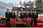 대한해운, 아시아 최초 LNG 벙커링선 닻 올려