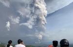 필리핀 화산폭발, 마닐라 항공 항공기 운항 전면 중단