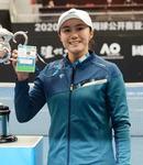 한국 여자 테니스 12년 만에 메이저 본선 한나래, 첫 문턱서 좌절