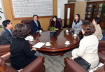 부산시교육청, 부산영양교사회로부터 1000만 원 상당의 쌀 받아 학교 지원