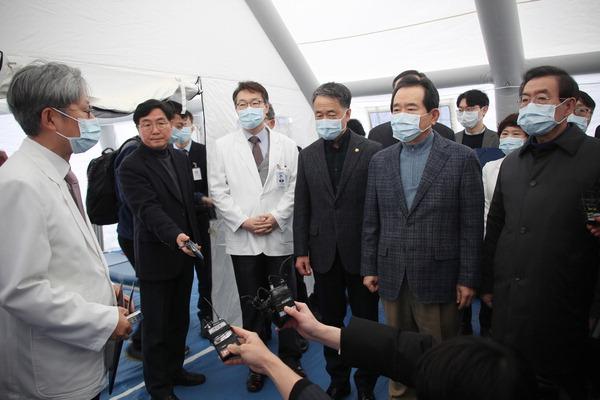 춘절 지낸 중국 유학생·노동자 귀국…부산 대학가 등 '우한 폐렴' 비상