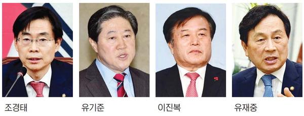 """4명 중 2명 공천 배제설…한국당 부산중진(3선 이상) """"나 떨고있니"""""""