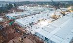 중국 '우한 코로나 응급병원' 완공…3일부터 진료