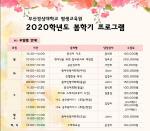 부산경상대학교 평생교육원, 봄학기 프로그램 개설