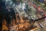 중국 코로나 격리시설 2초 만에 '폭삭'…4명 사망·29명 실종