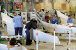 대한항공, 에어버스 날개부품 '샤크렛' 누적 3000대 인도