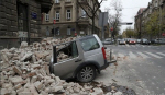 크로아티아 수도 인근 5.3 규모 지진