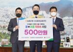 농협은행 사상중앙금융센터, 부산 사상구에 성금 500만원 기탁