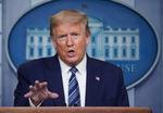 """트럼프, 김정은 위중설에 """"우리는 모른다"""""""