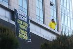 형제복지원 피해자, 국회서 과거사법 처리 요구 고공시위