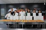 사하사랑채노인복지관·동주대학교 호텔 제과제빵과, 사랑의 단팥빵 만들기 행사 진행