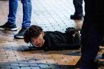 홍콩 코로나 진정되자 민주화 요구 시위