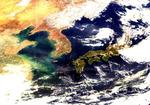 천리안위성 2B호 촬영 한반도 해양 모습 공개