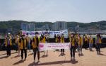 서구 자원봉사센터, 동아대학생들과 생활 속 거리두기 캠페인 전개