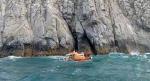 통영 해상 동굴 고립된 다이버 구조하던 해경 1명 실종