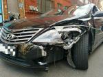 음주운전 차량이 골목에 주차한 차량 10여대 잇달아 추돌