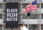 [포토뉴스] 주한미국대사관도 '흑인 목숨도 중요하다'
