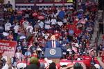 트럼프 대통령 대선 유세…주독 미군 감축 재차 언급