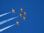 부산서 6·25전쟁 해군 첫 승전 70주년 기념행사 '블랙이글스 축하 비행'