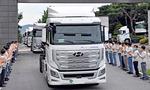 현대차, 수소전기 대형트럭 10대 스위스로 수출