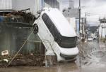 일본 규슈, 폭우로 57만명 피난 지시...'사망·실종 60명 육박´