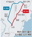 부산~울산 광역철 양산 웅상구간 '트램' 추진