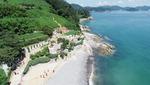 [바캉스 특집-경남 거제시] 바위에 쌓은 매미성과 양이 뛰노는 숲소리공원 '한폭의 수채화'