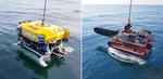 국내 기술로 만든 수중건설로봇 2대(URI-T·URI-R) 첫 공사 투입