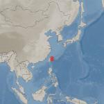 대만 화롄 동북동쪽 97km 해역서 규모 6.1 지진