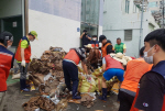 동구자원봉사센터, 폭우로 인한 수해복구 지원
