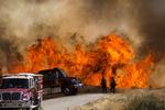 미국 캘리포니아 산불…주민 대피령
