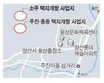 양산 주진동에 1만 명 신흥거주지 조성 '잰걸음'